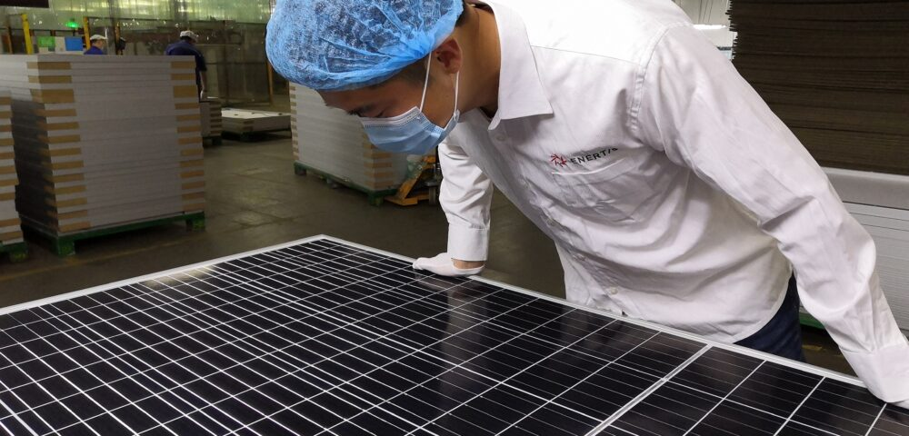 Enertis collaborates with AAGES as quality inspector of the first plant in Colombia with bifacial photovoltaic panels